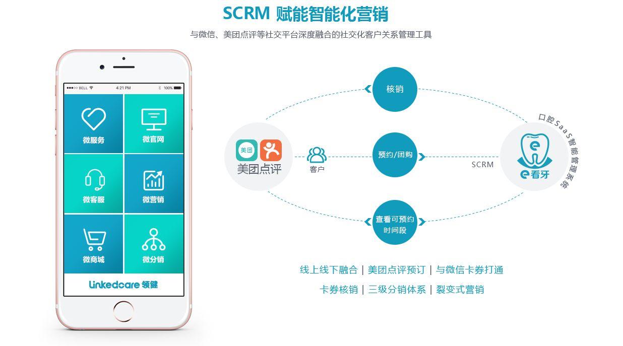 领健_口腔管理系统_SCRM赋能智能化营销